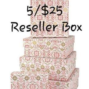 5/$25 RESELLER MYSTERY BOX!